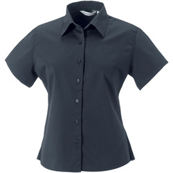 Textil Mulher camisas Russell J917F Zinco