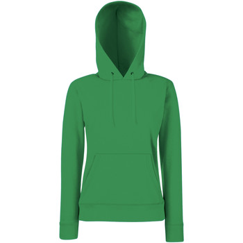 Textil Mulher Sweats Fruit Of The Loom 62038 Kelly Green