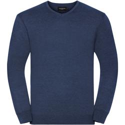 Textil Homem camisolas Russell 710M Denim Marl