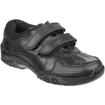 Sapatos Rapaz Sapatilhas Hush puppies Jezza Preto