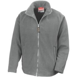 Textil Homem Casaco polar Result R115M Cinza Claro