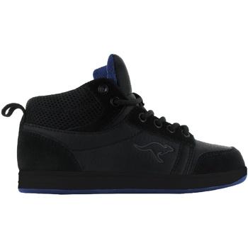 Sapatos Criança Sapatilhas de cano-alto Kangaroos  Negro/Preto/Royal