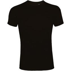 Textil Homem T-Shirt mangas curtas Sols 10580 Preto profundo
