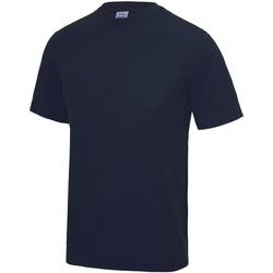 Textil Criança T-Shirt mangas curtas Awdis JC01J marinha francesa