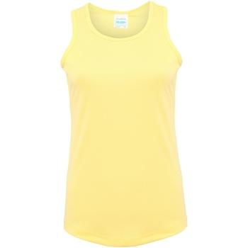 Textil Mulher Tops sem mangas Awdis JC015 Sherbet Lemon