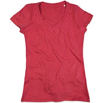 Textil Mulher T-Shirt mangas curtas Stedman Stars  Cerejeira Heather