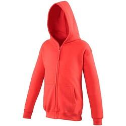 Textil Criança Sweats Awdis JH50J Vermelho Fogo