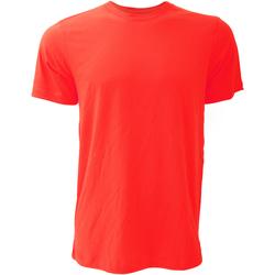 Textil Homem T-Shirt mangas curtas Bella + Canvas CA3001 Vermelho