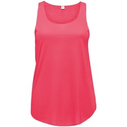Textil Mulher Tops sem mangas Sols Jade Neon Coral