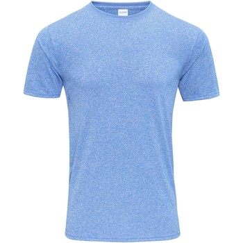 Textil Homem T-Shirt mangas curtas Gildan 46000 Heather Sport Royal