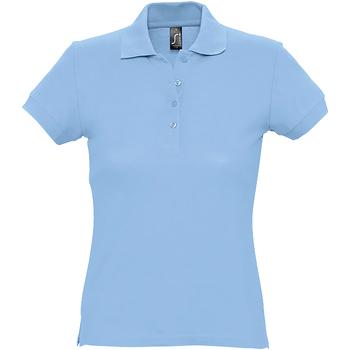 Textil Mulher Polos mangas curta Sols 11338 Azul Céu