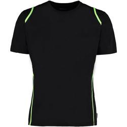 Textil Homem T-Shirt mangas curtas Gamegear Cooltex Cal preta/flourescente