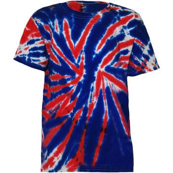 Textil Criança T-Shirt mangas curtas Colortone TD02B União Jack