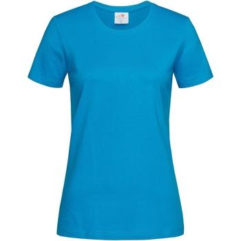 Textil Mulher T-Shirt mangas curtas Stedman  Azul-marinho