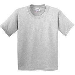 Textil Criança T-Shirt mangas curtas Gildan 5000B Cinza de cinza