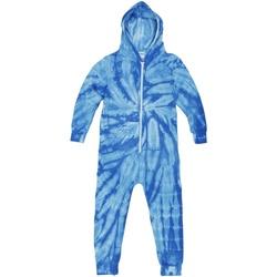 Textil Criança Pijamas / Camisas de dormir Colortone Die Tye Aranha Real
