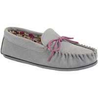 Sapatos Mulher Mocassins Mokkers Lily Cinza