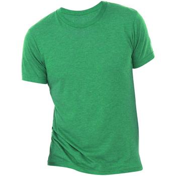 Textil Homem T-Shirt mangas curtas Bella + Canvas CA3413 Triblend Verde