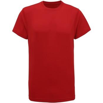 Textil Homem T-Shirt mangas curtas Tridri TR010 Vermelho Fogo