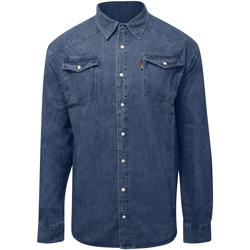 Textil Homem Camisas mangas comprida Duke  Stonewash
