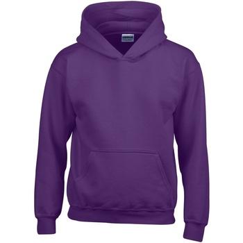 Textil Criança Sweats Gildan 18500B Púrpura