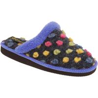 Sapatos Mulher Chinelos Sleepers Donna Azul/Multi