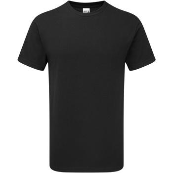 Textil Homem T-Shirt mangas curtas Gildan H000 Preto