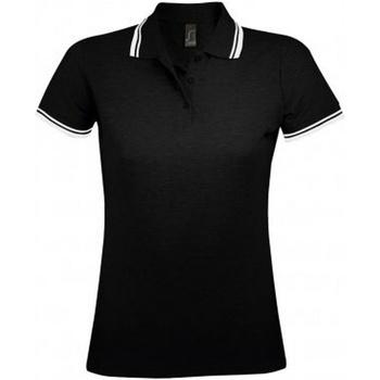 Textil Mulher Polos mangas curta Sols 10578 Preto/branco