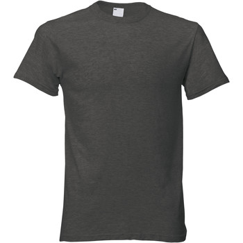 Textil Homem T-Shirt mangas curtas Universal Textiles 61082 Graphite