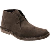 Sapatos Homem Botas baixas Roamers Desert Marrom Escuro