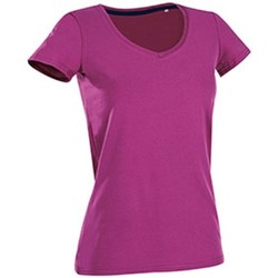 Textil Mulher T-Shirt mangas curtas Stedman Stars Claire Cupcake Pink
