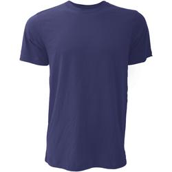 Textil Homem T-Shirt mangas curtas Bella + Canvas CA3001 Azul-marinho