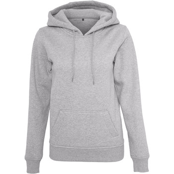 Textil Mulher Sweats Build Your Brand BY026 Heather Grey