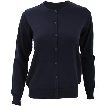 Textil Mulher Casacos de malha Kustom Kit KK355 Azul-marinho