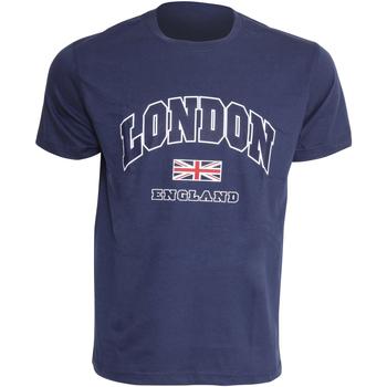 Textil Homem T-Shirt mangas curtas England  Marinha