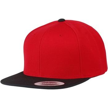 Acessórios Boné Yupoong YP010 Vermelho/preto