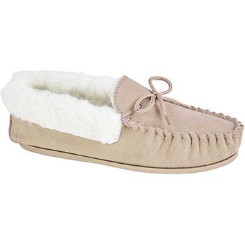 Sapatos Mulher Chinelos Mokkers  Pedra