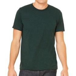 Textil Homem T-Shirt mangas curtas Bella + Canvas CA3413 Esmeralda Triblend