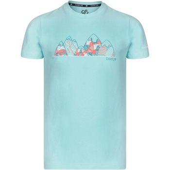Textil Criança T-Shirt mangas curtas Dare 2b Frenzy Montanha Azul de Aruba