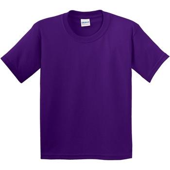 Textil Criança T-Shirt mangas curtas Gildan 5000B Púrpura