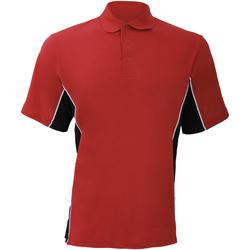 Textil Homem Polos mangas curta Gamegear KK475 Vermelho/preto/branco