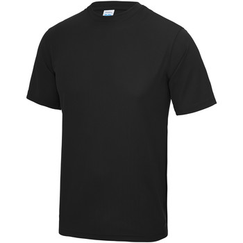 Textil Homem T-Shirt mangas curtas Awdis JC001 Jet Black