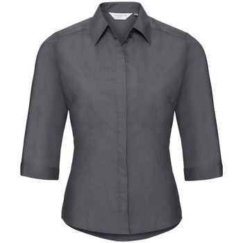 Textil Mulher camisas Russell 926F Cinza do comboio