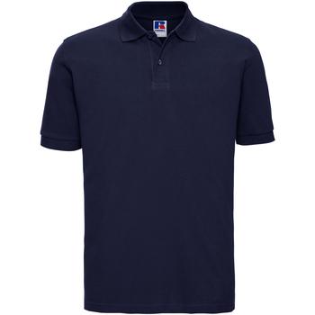 Textil Homem Polos mangas curta Russell 569M marinha francesa