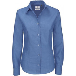 Textil Mulher camisas B And C SWO03 Blue Chip