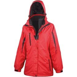 Textil Mulher Corta vento Result R400F Vermelho / Preto