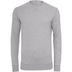 Textil Homem Sweats Build Your Brand BY010 Heather Grey