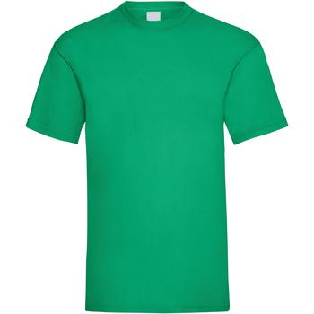 Textil Homem T-Shirt mangas curtas Universal Textiles 61036 Verde