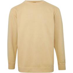 Textil Homem Sweats Comfort Colors CO040 Mostarda