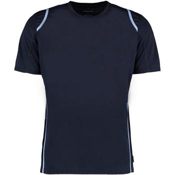 Textil Homem T-Shirt mangas curtas Gamegear Cooltex Marinha / Azul Claro